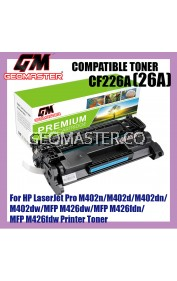HP CF226A / 26A / CF-226A High Quality Compatible Laser Toner Cartridge For HP LaserJet Pro HP LaserJet Pro M402n / M402d / M402dn / M402dw / MFP M426dw / MFP M426fdn / MFP M426fdw Printer
