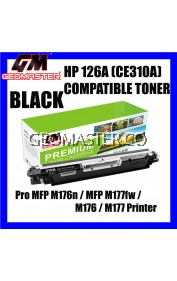 HP Compatible 126A 126 Compatible Colour Laser Toner Cartridge HP CE310A 310 CE311A 311 CE312A 312 CE313A 313 ( Black Cyan Magenta Yellow ) HP Colour LaserJet Pro CP1025 / CP1025nw / 1025 / M175a / M175nw / 175 / M275 / M275nw / 275 Printer Ink