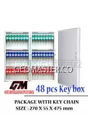 Geomaster 48 psc High Quality Key box , keybox Key Boxes Key Cabinet - Stock Ready ( Fast Shipping )