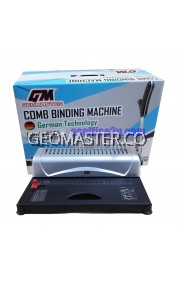 GEOMASTER GM-1300 COMB BINDING MACHINE