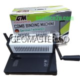 GEOMASTER GM-2500 COMB BINDING MACHINE