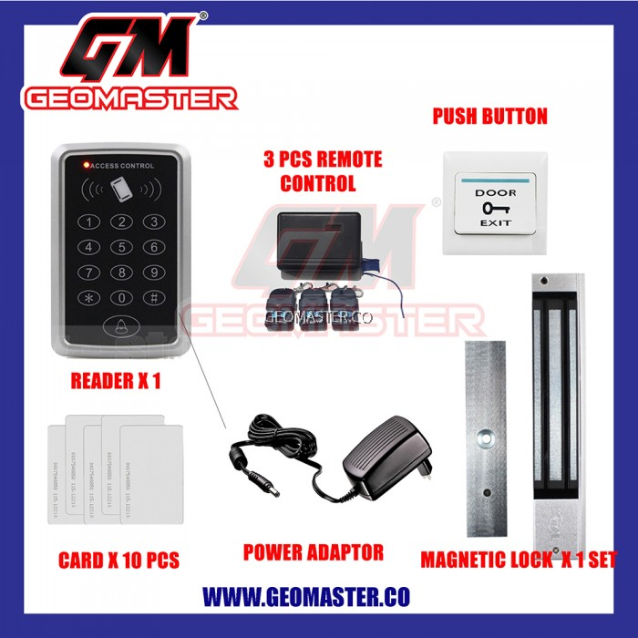 Rfid Door Access Security Card System Lock Heavy Duty