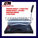 GERMAN TECHNOLOGY 2 IN 1 BINDING MACHINE