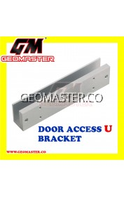 DOOR ACCESS U BRACKET (ALUMINIUM FOR GLASS DOOR)