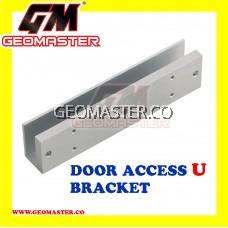 DOOR ACCESS U BRACKET (ALUMINIUM FOR GLASS DOOR)