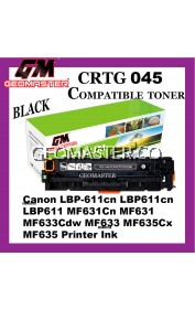 Compatible Laser Toner Cartridge ImageClass Canon 045 Compatible 045 Cartridge 045 CRG045 CRG 045 Black Colour Laser Toner Cartridge For Canon LBP-611cn LBP611cn LBP611 MF631Cn MF631 MF633Cdw MF633 MF635Cx MF635 Printer Ink