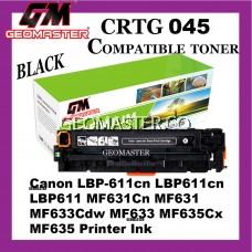 Compatible Laser Toner Cartridge ImageClass Canon 045 Compatible 045 Cartridge 045 CRG045 CRG 045 Black Colour Laser Toner Cartridge For Canon LBP-611cn LBP611cn LBP611 MF631Cn MF631 MF633Cdw MF633 MF635Cx MF635 Printer Ink