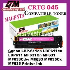 Compatible Laser Toner Cartridge ImageClass Canon 045 Compatible 045 Cartridge 045 CRG045 CRG 045 Magenta MG M Colour Laser Toner Cartridge For Canon LBP-611cn LBP611cn LBP611 MF631Cn MF631 MF633Cdw MF633 MF635Cx MF635 Printer Ink