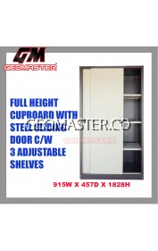 GM Full Height Cupboard With Steel Sliding Door