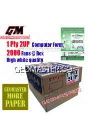 GM 1 PLY 2UP COMPUTER FORM (2000 FANS)