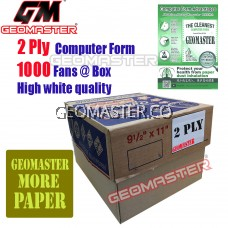 GM 2 PLY COMPUTER FORM (1000Fans)