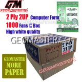 GM 2 PLY 2UP COMPUTER FORM (1000Fans)