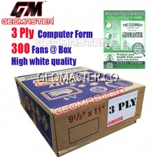 GM 3 PLY COMPUTER FORM (300 FANS)