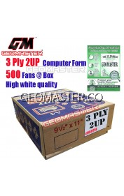 GM 3 PLY COMPUTER FORM (500 FANS)