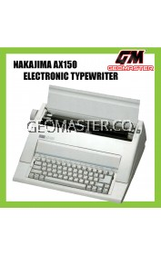 NAKAJIMA ELECTRONIC TYPEWRITER AX150 (3 YEARS WARRANTY)