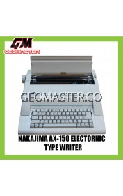NAKAJIMA ELECTRONIC TYPEWRITER AX-150 (3 YEARS WARRANTY)