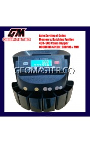 GEOMASTER C448 COIN COUNTER-MEDIUM