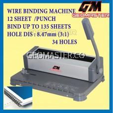 GM WIRE BIND WIRE BINDING MACHINE - GEOMASTER MALAYSIA