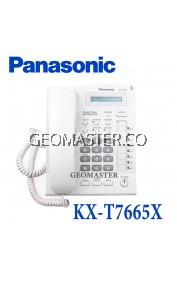 Panasonic 8CO 1 Line LCD Display Digital Speakerphone (KX-T7665X)