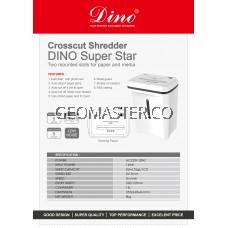 DINO SUPERSTAR HOME & BUSINESS SHREDDER -CROSS CUT