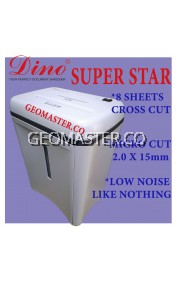 DINO SUPERSTAR HOME & BUSINESS SHREDDER -CROSS CUT