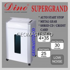 Dino Super Grand Heavy Duty Paper Shredder Cross Cut Machine