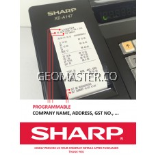 SHARP XE-A137BK Cashier Machine