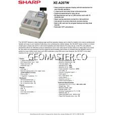 Sharp XE-A207 Cash Register