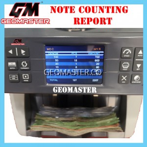 GEOMASTER 1888VC VALUE MONEY COUNTER
