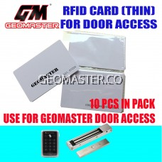 RFID ACCESS CARD (THIN ) DOOR ACCESS FRID CARD -10 PCS