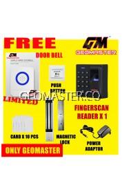 GEOMASTER BIOMETRIC FINGERPRINT DOOR ACCESS SECURITY SYSTEM