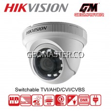 HIKVISION 2MP TURBO HD 1080P 4 IN 1 INDOOR IR DOME CAMERA (DS-2CE56D0T-IPF)