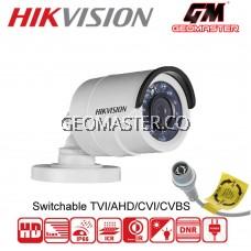 HIKVISION 2MP TURBO HD 1080P 4 IN 1 AHD/CVI/TVI/CVBS OUTDOOR IR BULLET CAMERA