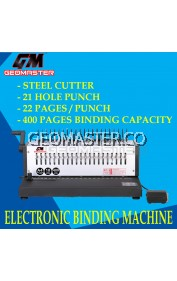 GEOMASTER HEAVY DUTY ELECTRONIC BINDING MACHINE EB-2200
