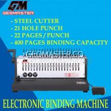 GEOMASTER HEAVY DUTY ELECTRONIC BINDING MACHINE EB-2200