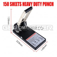 Heavy Duty Puncher 0150 Two Holes Heavy Duty Punch 150pcs Thickened Drilling Machine / Puncher