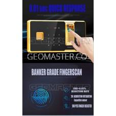 GM New Large Fingerprint Home Hotel Office Safe Safety Deposit Box Alam