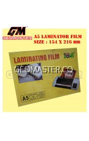 A5 LAMINATOR FILM , CLAER LAMINATOR FILM SIZE A5