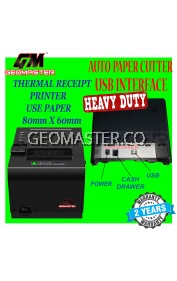 GEMASTER GM-7700 THERMAL RECEIPT PRINTER -80mm USB CONNECT