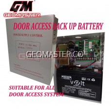 DOOR ACCESS BACK UP BATTERY / BACK UP BATERY FOR DOOR ACCESS