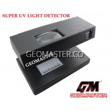PROFESSIONAL MONEY DETECTOR AD-818 with Magnifying Glass (UV, Watermark Detection) (LARGE SIZE)