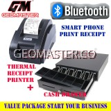 GEOMASTER CASH DRAWER AND RECEIPT PRINTER (BLUETOOTH CONNECT ) -LOYVERSE