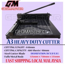 A3 PAPER CUTTER - HEAVY DUTY PAPER CUTTER  STAINLESS CUTTER