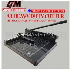 A3 PAPER CUTTER - HEAVY DUTY PAPER CUTTER  STAINLESS CUTTER