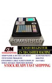GEOMASTER CASHIER MACHINE , CASH REGISTER - FULL SETTING