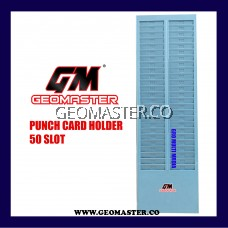 Time recorder / punch card / card rack - 50 slot