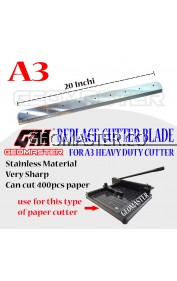 GEOMASTER A3 HEAVY DUTY PAPER CUTTER - REPLACE BLADE