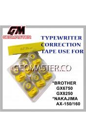Typewriter Correction Tape , Typewriter Ribbon Compatible For Brother , Nakajima Typewriter