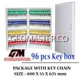 Geomaster 96 psc High Quality Key box , keybox Key Boxes Key Cabinet - Stock Ready ( Fast Shipping )