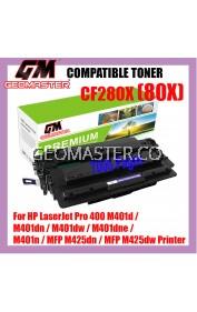 Compatible Laser Toner HP CF280X / 80X / CF280A Toner Catridge For HP LaserJet Pro 400 M401d / M401dn / M401dw / M401dne / M401n / MFP M425dn / MFP M425dw Printer
